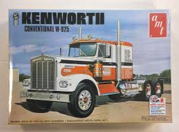 Amt 1021 Kenworth Conventional W-925 Model Kit | Cars, Motorbikes ...