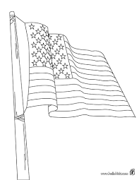 Shooting Soldiers Flag Of The USA Coloring Page