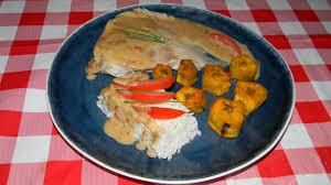 cuisiner une raie raie à la créole crème coco piment antillais banane plantain