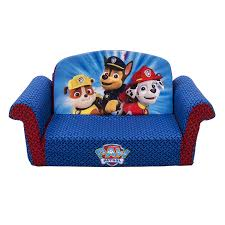 amazon com marshmallow furniture paw patrol flip open sofa toys