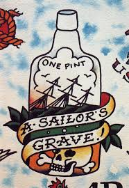 Sailor Jerry Bottle Tattoo Flash In 2017 Real Photo Pictures Images And Sketches Collections