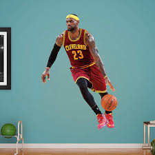 Fathead Baby Wall Decor by Life Size Lebron James No 23 Wall Decal Shop Fathead For