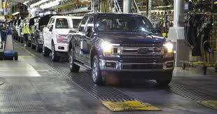 Ford's Dearborn Truck Plant Re-starts F-150 Production Ford Tops Resurgent Us Car Industry 2013 Sales Results Show Kalw How Fords Largest Truck Factory Was Completely Overhauled In 8 Weeks Michigan F150 Plant Holds Key To Passage Of Uaw Deal New Starts Rolling Out Dearborn Plant Autoweek Celebrates Reopening Truck Radio From Scratch 2012 Lariat 4x4 Ecoboost Trend Super Duty Production Restart After Supplier Fire 2015 Begins At The Video Plants Undergo Quiet Revolution Henry Historic Rouge Is Reinvented Along With The F Chassis Assembly Detroit And Motor Co Assembly Reportedly Vandalized