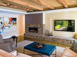 Noble A Look Living Hanging Led Tv Wall Unit Then Furniture Together