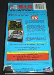 Big Trucks Tractors & Trains VHS 1994 ~ 084296059782 84296059782 | EBay Latest Tulsa News Videos Fox23 Military Trucks Diamondt Garbage April 2017 For Kids Inspirational Marvelous Toy Truck Toys Turn Into Big Houses You Wont Believe Your Eyes Selfdriving Are Now Running Between Texas And California Wired Semi Trailer On The Road Highway Transports Logistics Ford Mudding Beautiful Super Duty Water Tanker Uses Of Big Trucks Videos Kids Heavy Cstruction Roller Truck Flatten Soil A New The Chevy 100 Year Ctennial Celebration