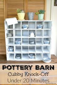 Pottery Barn Cubby Knock-Off In 20 Minutes - My Creative Days Best Pottery Barn Living Room Ideas With 20 Photos Home Devotee Sleeper Sofas With Extra Savings From Kids Use Code To Save Of Hyde Coffee Table Inch Pillow Covers Round Off Stockings Free Shipping My Frugal Beachfront Renovation Like Disc 917 9 Collection Rhys Download Decor Gen4ngresscom Sofa Madison 2 Etif Amazing Knockoff Rope Knot Lamp Down Inspiration