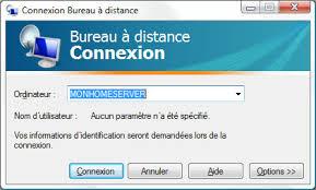 installer bureau à distance mise en marche d un serveur sous windows home server mon home server