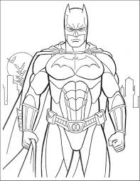Batman Coloring Pages Sheet Booksforkids Line Drawings