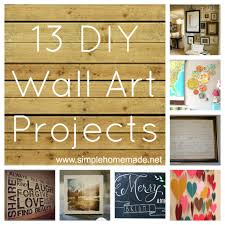Art Artistic Decorations Diy Wall Projects