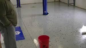 Valspar Garage Floor Coating Kit Instructions by Ucoat It Garage Epoxy Youtube