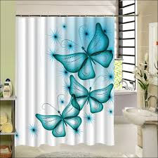 Bathroom Curtains At Walmart by Bathrooms Marvelous Gray And White Shower Curtain Bathroom