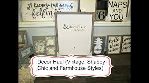Master Bedroom Decor Haul Vintage Shabby Chic And Farmhouse Style