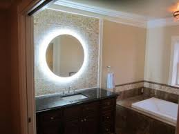 bathroom mirrors that light up lighted mirror wall vanity with