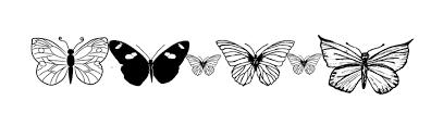 Butterfly Border 1
