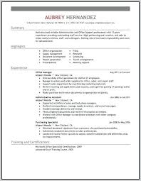 Sample Resume For Administrative Assistant Canada And Create Astonishing