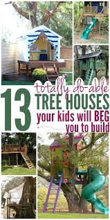 13 Tree Houses Your Kids Will BEG You To Build - Glue Sticks And ... Our Work Tree Houses By Dave Modern Treehouse Designed As A Weekender In The Backyard For 9 Completely Free House Plans Funky Video Hgtv Cool Designs We Wish Had In Our Photos Steal This Look A Fort Gardenista Child Within Max Backyard Treehouse Scene Tree Incredible Treehouses You As Kid The Design Dome 25 Ideas Youtube