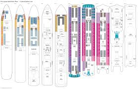 ncl gem deck plan pdf spirit deck 9 deck plan tour