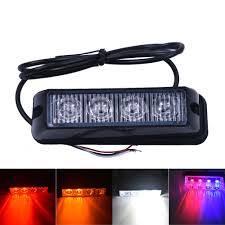 4 LED Red Blue Yellow White Car Police Lights Flash Truck ... 1224v 6 Led Slim Flash Light Bar Car Vehicle Emergency Warning Best Cree Reviews For Offroad Truck Cirion 47 88led Led Emergency Strobe Lights Flashing New Roof 40 Solid Amber Plow Tow 22 Full Size And Security Top Bar Kits Kit Packages 88 88w Car Truck Beacon Work Light Bar Emergency Strobe Lights Inglight Bars At Fleet Safety Solutions 46 Youtube 55 104w 104 Work Light Beacon