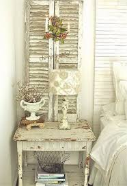 Add Shabby Chic Touches To Your Bedroom Design Vintage ShuttersOld Shutters DecorCountry