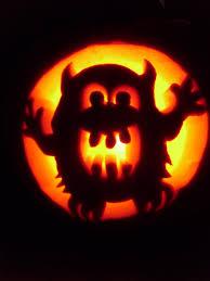 Totoro Pumpkin Carving Patterns by Monster Jack O Lantern By Jenni4design On Deviantart