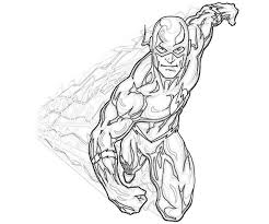 Wonderful Flash Superhero Coloring Pages For KIDS Book Ideas