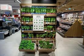 Best In Class Fresh Herb Merchandising Makes An Innovative Statement MENY Supermarket Norway