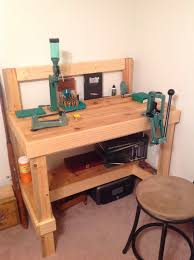Fly Tying Bench Woodworking Plans by My Reloading Bench Workbench Pinterest Reloading Bench Guns