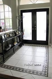 best 25 painting tile floors ideas on painting tile