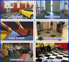 Flexi Tile Interlocking Floor Tiles Garage Flooring