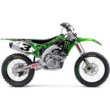 DCOR Visuals 2016 Monster Energy Camo Complete Graphics Kit