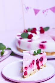 himbeer joghurt tore mit meringue