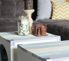 Beach Coffee Table Inspired Pallet Painted Furniture Newport Book