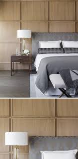 100 Contemporary Wood Paneling This Bedroom Uses Square Wood Panels To Create A Modern