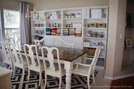 Dining Room Makeover Featuring IKEA Faux Built Ins