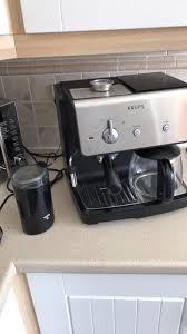 Krups Dual Espresso Filter Coffee Machine Bean Grinder