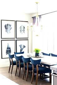 Navy Blue Dining Chair Table Set Wonderful Upholstered Chairs