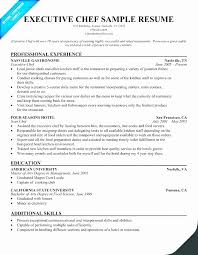 Cook Sample Resume Objective Beautiful For Cooking Template