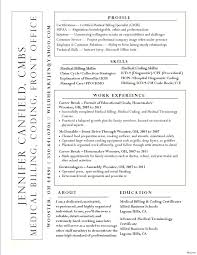 Sample Resumes For Medical Billing And Coding Specialist Resume Claims Processor Or Summary Templates Sam