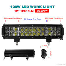 Hot! 12 Inch 120w X 5w Led Flood Spot Combo Beam Work Light Bar ... 1224v 6 Led Slim Flash Light Bar Car Vehicle Emergency Warning Best Cree Reviews For Offroad Truck Cirion 47 88led Led Emergency Strobe Lights Flashing New Roof 40 Solid Amber Plow Tow 22 Full Size And Security Top Bar Kits Kit Packages 88 88w Car Truck Beacon Work Light Bar Emergency Strobe Lights Inglight Bars At Fleet Safety Solutions 46 Youtube 55 104w 104 Work Light Beacon