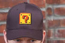 Mario Question Mark Block Lamp by Retro Gamer Lighting Mario Question Mark Block Lamp