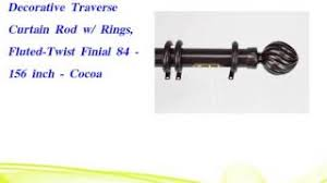 Decorative Metal Traverse Curtain Rods by 30 In Decorative Metal Traverse Rods Are One Of The Most Popular