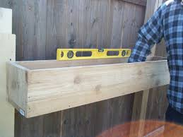 DIY Cedar Planter Boxes For Fence In The Backyard House Design ... How To Build A Wooden Raised Bed Planter Box Dear Handmade Life Backyard Planter And Seating 6 Steps With Pictures Winsome Ideas Box Garden Design How To Make Backyards Cozy 41 Garden Plans Google Search For The Home Pinterest Diy Wood Boxes Indoor Or Outdoor House Backyard Ideas Wooden Build Herb Decorations Insight Simple Elevated Louis Damm Youtube Our Raised Beds Chris Loves Julia Ergonomic Backyardlanter Gardeninglanters And Diy Love Adot Play