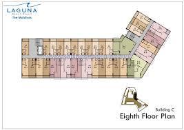C Floor Plans by Laguna Resort The Maldives Condo Pattaya Floor Plans C
