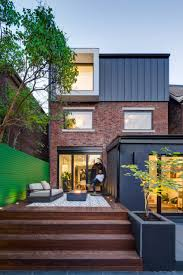 Historic Toronto Home Gets Contemporary Update By Post ... Small House Bricks Kerala Style Modern Brick Design Interlocking Exterior Colors Idolza Ranch Home Designs Exterior House Colors For Modern Homes Wall Fence Dramatic Front Boundary Architecture Ideas Awesome With Paint Yard And Face Brick Home Designs Brighhatco Formidable 1000 About Luxury Unique Apartment Building