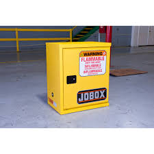 Flammable Safety Cabinet 30 Gallon by Jobox 1 850990 Jobox 12 Gallon Heavy Duty Safety Cabinet Yellow