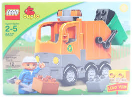 5637 Duplo Garbage Truck Construction Set, LEGO Duplo - Shop Online ... Lego 5637 Garbage Truck Trash That Picks Up Legos Best 2018 Duplo 10519 Toys Review Video Dailymotion Lego Duplo Cstruction At Jobsite With Dump Truck Toys Garbage Cheap Drawing Find Deals On 8 Sets Of Cstruction Megabloks Thomas Trains Disney Bruder Man Tgs Rear Loading Orange Shop For Toys In 5691 Toy Story 3 Space Crane Woody Buzz Lightyear Tagged Refuse Brickset Set Guide And Database Ville Ebay