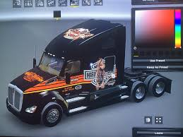 Harley Davidson Skin For Ken.t680 • ATS Mods | American Truck ... 2006 Ford F150 Harley Davidson Supercab Pickup Truck Item Unveils Limited Edition 2012 Harleydavidson 2003 Supercharged Truck 127 Scale Harley F350 Super Duty Pickup 2000 Gaa Classic Cars Stock Photos Ma3217201 1999 2009 Crew Cab Diesel 44 One New 2010 Tough With Cool Attitude Edition Pics Steemit And Trailer Advertising Vehicle Wraps