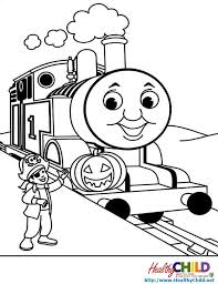 4 Images Of Thomas The Tank Engine Coloring Pages
