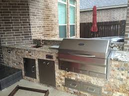 Patio Kitchen Plans High Tech Meets Rustic Style In Houston