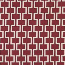 Smooth Curtain Fabric Crossword by A580 Red And White Ticking Stripes Heavy Duty Upholstery Https